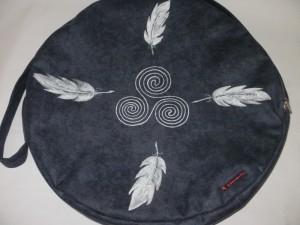 Trommeltasche 3-er Spirale