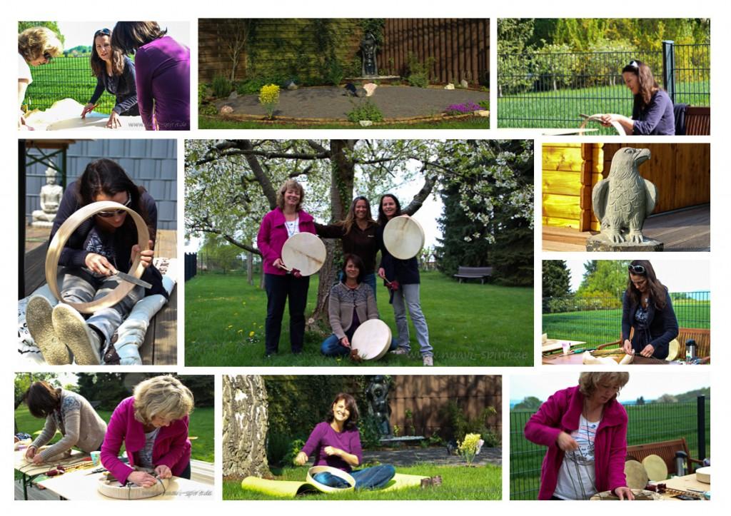 Trommelbau-Workshop bei Monika Suttner