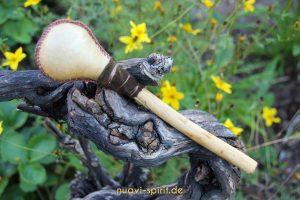 Schamanische Trommel mit Hirschhaut