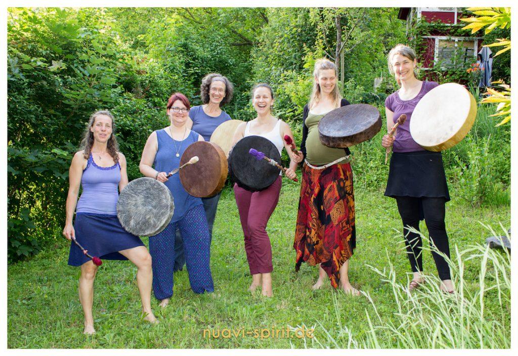 Trommelbau Workshop im Schwesternkreis