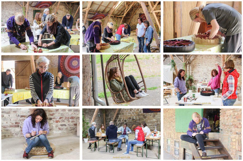 Fotos vom Trommelbau-Workshop in der Eifel_3