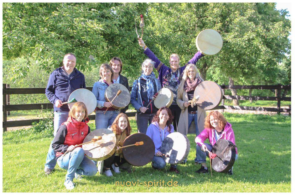 Trommelbau Workshop Eifel