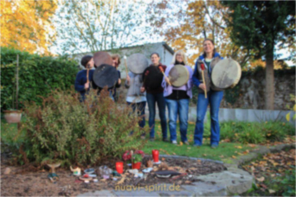 Trommelbau-Workshop zu Halloween